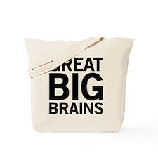 Great Big Brains Tote Bag