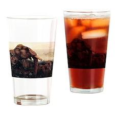 Edward Julius Detmold Elephants Drinking Glass