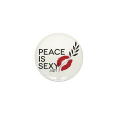 Peace Is Sexy Mini Button (10 pack)