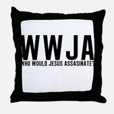 WWJA? Throw Pillow