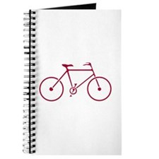 Red and White Cycling Journal