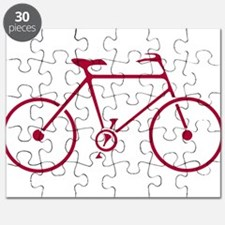 Red and White Cycling Puzzle