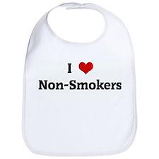 I Love Non-Smokers Bib