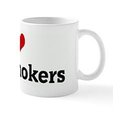 I Love Non-Smokers Mug