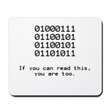 Geek Mouse Pads