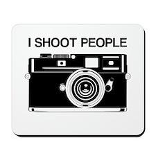 Photographer, I shoot people, Mousepad