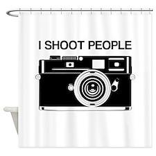 Photographer, I shoot people, Shower Curtain