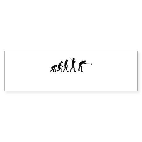Shoot Pool, Evolution, Sticker (Bumper)