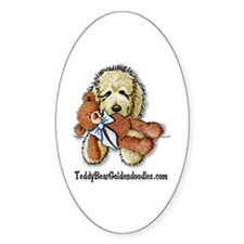 TBG's Pocket Doodle Oval Decal