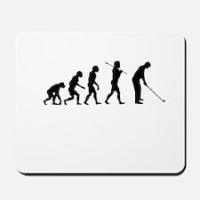 Golfer Evolution Mousepad