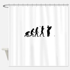 Funny Golf Shower Curtain