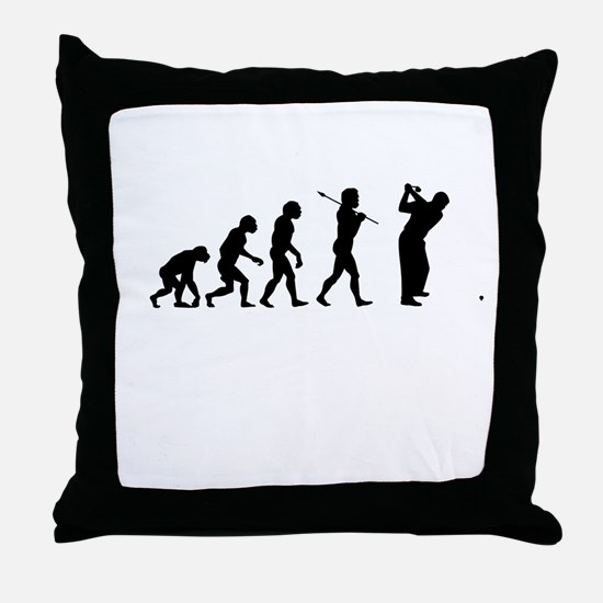 Funny Golf Throw Pillow