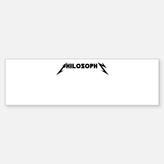 Philosophy ROCKS Sticker (Bumper)