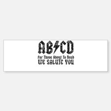ABCD, We Salute You, Car Car Sticker