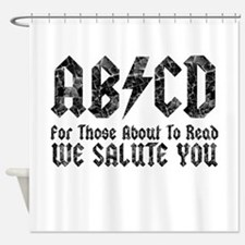 ABCD, We Salute You, Shower Curtain