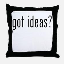 Got Ideas? Throw Pillow