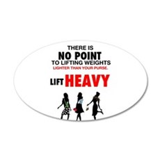 Hot Girls Lift Heavy Wall Decal