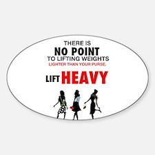 Hot Girls Lift Heavy Decal