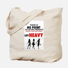 Hot Girls Lift Heavy Tote Bag