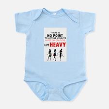 Hot Girls Lift Heavy Infant Bodysuit