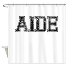 AIDE, Vintage Shower Curtain