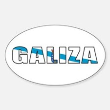 Galicia Oval Decal