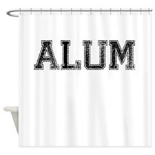 ALUM, Vintage Shower Curtain