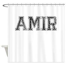 AMIR, Vintage Shower Curtain