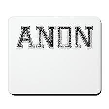 ANON, Vintage Mousepad