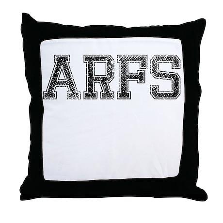 ARFS, Vintage Throw Pillow