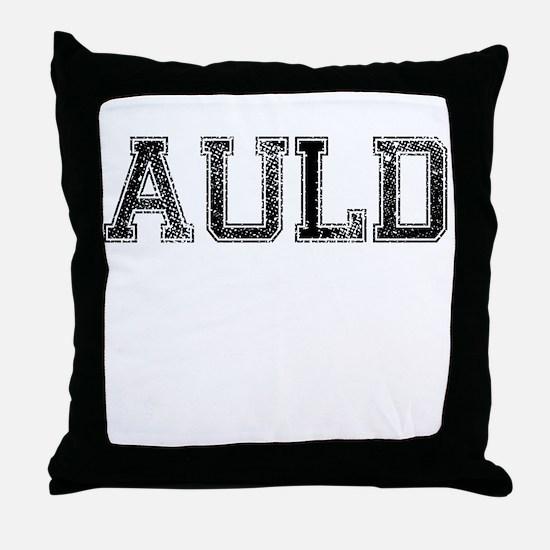 AULD, Vintage Throw Pillow
