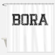 BORA, Vintage Shower Curtain