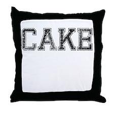 CAKE, Vintage Throw Pillow