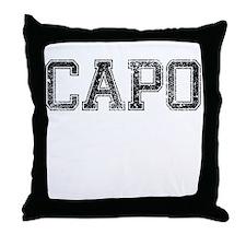 CAPO, Vintage Throw Pillow