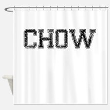 CHOW, Vintage Shower Curtain