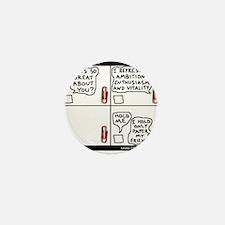 Unique Colin Mini Button