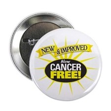 "Cancer Free 2.25"" Button"