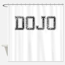 DOJO, Vintage Shower Curtain