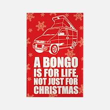 MAZDA BONGO IS FOR CHRISTMAS Rectangle Magnet