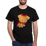 Halloween Devil Doggy Matching Dark T-Shirt