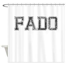 FADO, Vintage Shower Curtain
