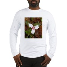 PTXpress White Trillium Long Sleeve T-Shirt