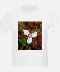 PTXpress White Trillium Kids T-Shirt
