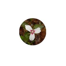 PTXpress White Trillium Mini Button (100 pack)
