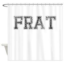 FRAT, Vintage Shower Curtain