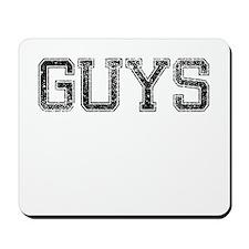 GUYS, Vintage Mousepad