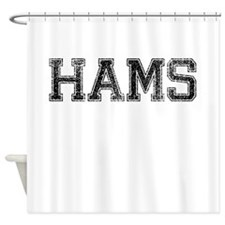 HAMS, Vintage Shower Curtain
