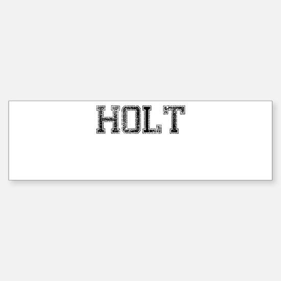 HOLT, Vintage Sticker (Bumper)