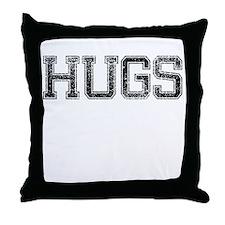 HUGS, Vintage Throw Pillow