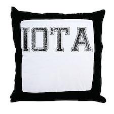 IOTA, Vintage Throw Pillow